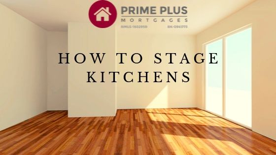 Staging A House To Sell - kitchens