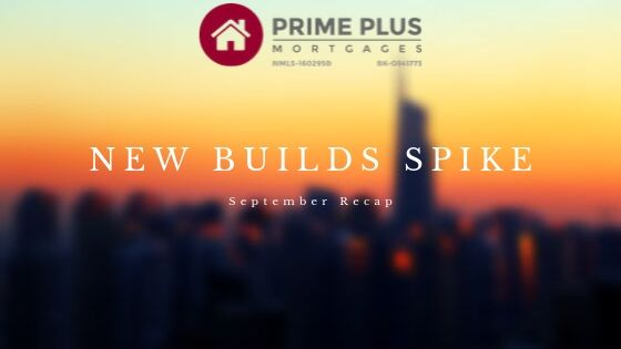 New Buils Spike real estate news