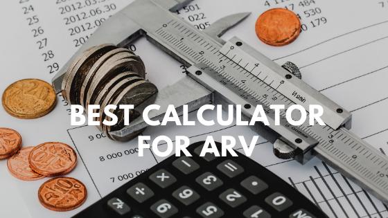 Best Calculator For ARV