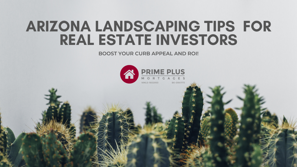 Arizona Landscaping Tips For Real Estate Investors
