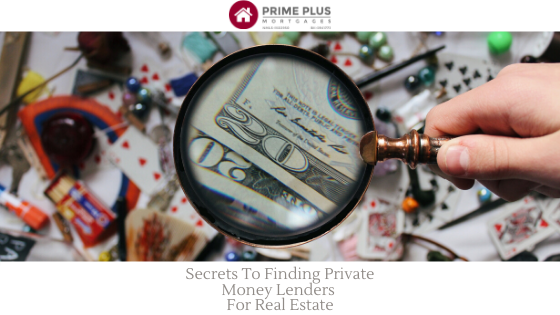 private money lenders for real estate