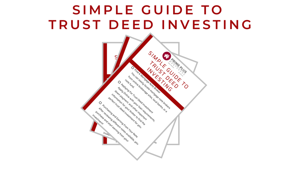 Simple Guide To Trust Deed Investing