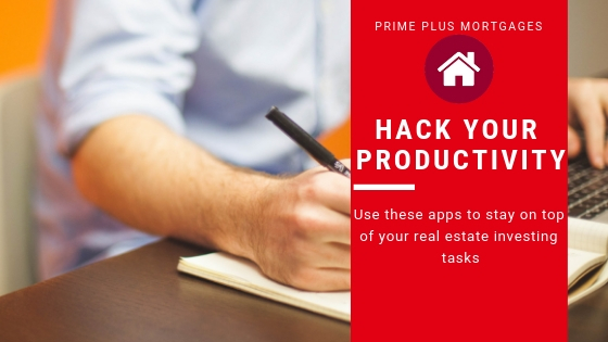 Image of productivity app for phoenix real estate investing