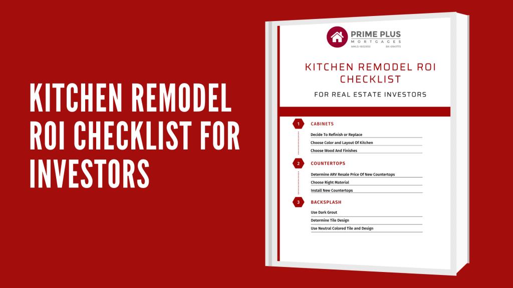 Kitchen Remodel ROI Checklist For Investors