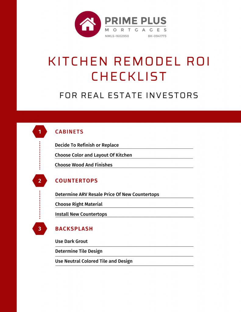 Kitchen Remodel ROI